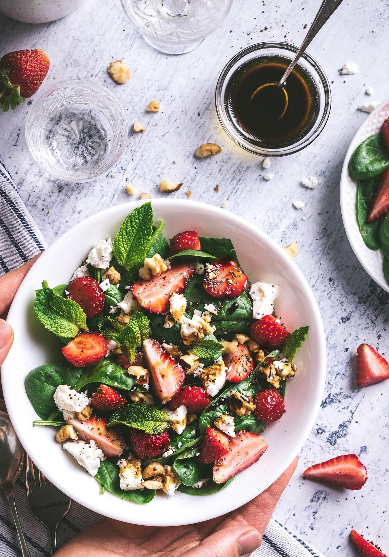 Vijf gezonde salade recepten